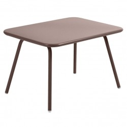 Fermob Luxembourg Kid Table · Russet