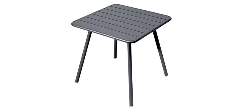 Fermob Luxembourg Table · 80 x 80 · Anthracite