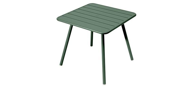Fermob Luxembourg Table · 80 x 80 · Cedar Green