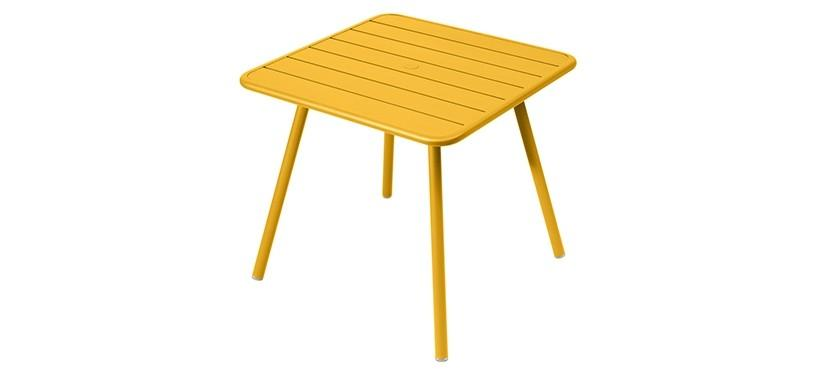Fermob Luxembourg Table · 80 x 80 · Honey