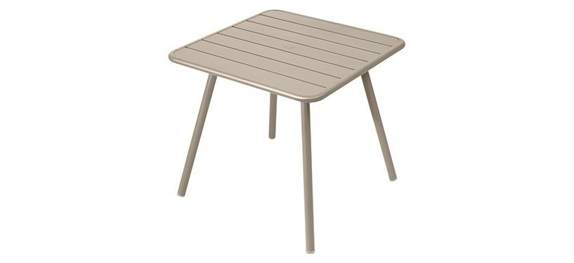 Fermob Luxembourg Table · 80 x 80 · Nutmeg