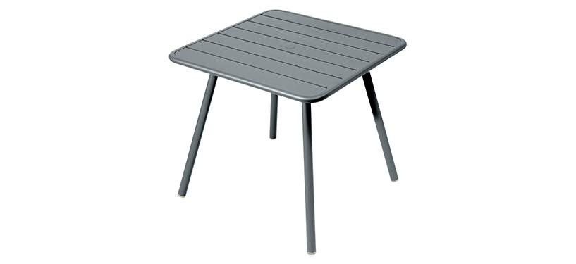 Fermob Luxembourg Table · 80 x 80 · Storm Grey
