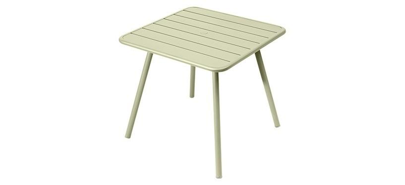 Fermob Luxembourg Table · 80 x 80 · Willow Green