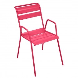 Fermob Monceau Armchair · Pink Praline