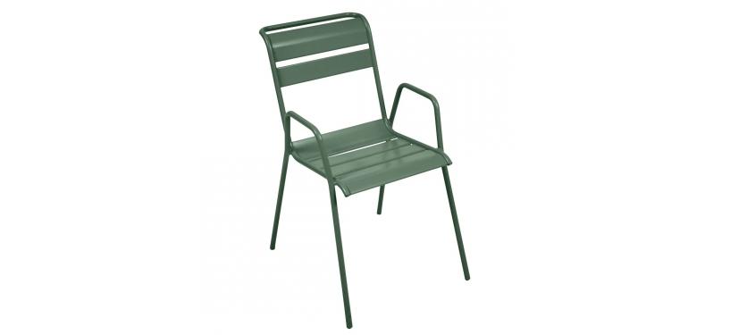 Fermob Monceau Armchair · Cedar Green