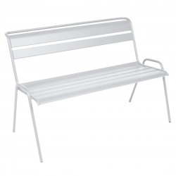 Fermob Monceau Bench · Cotton White