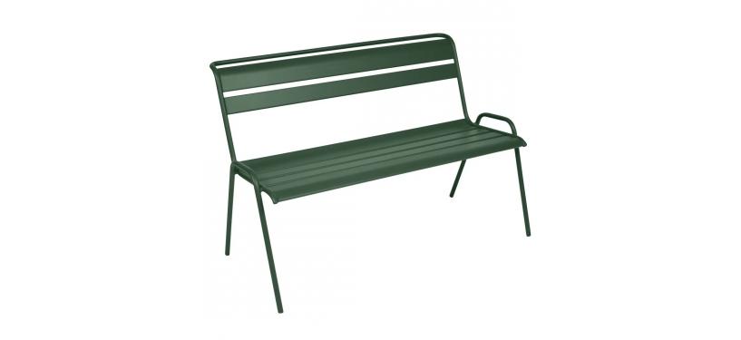 Fermob Monceau Bench · Cedar Green