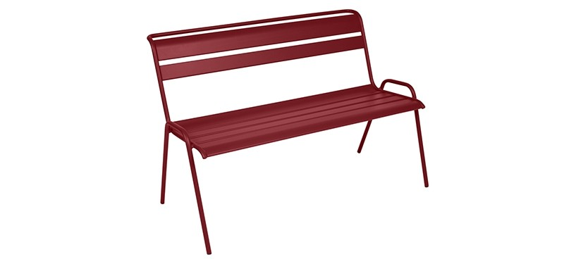 Fermob Monceau Bench · Chili