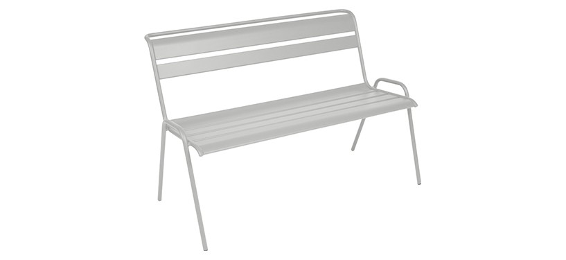 Fermob Monceau Bench · Steel Grey