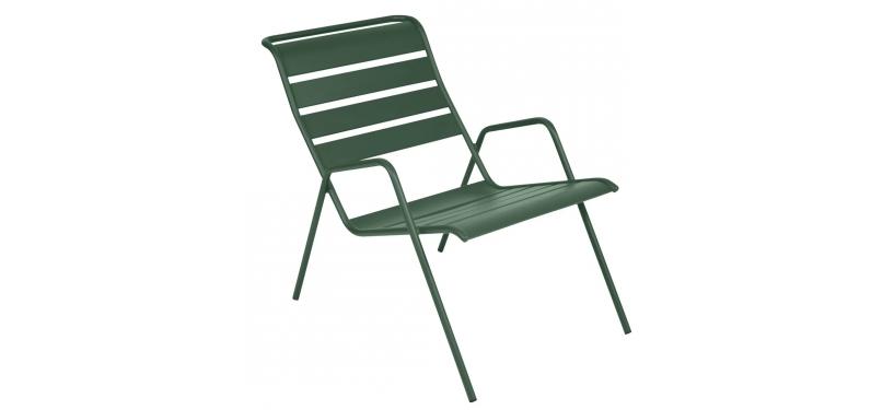 Fermob Monceau Low Armchair · Cedar Green