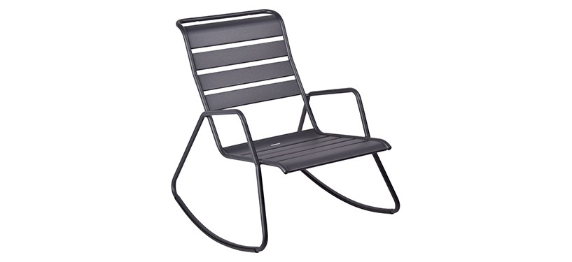 Fermob Monceau Rocking Chair · Anthracite