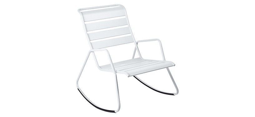 Fermob Monceau Rocking Chair · Cotton White