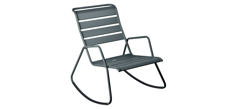 Fermob Monceau Rocking Chair · Storm Grey