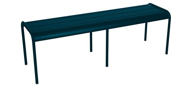 Fermob Monceau XL bench · Acapulco Blue