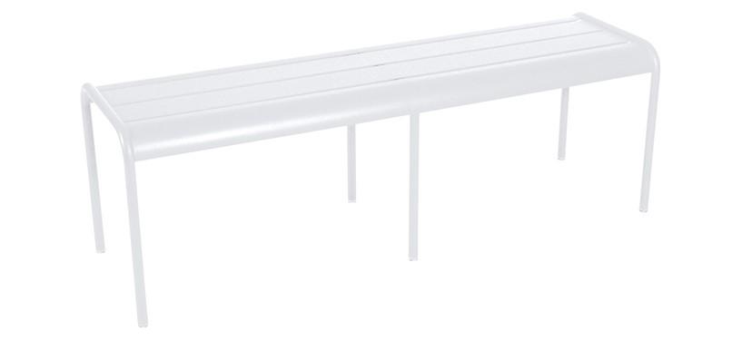 Fermob Monceau XL bench · Cotton White