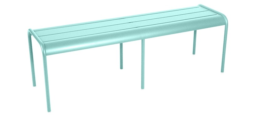 Fermob Monceau XL bench · Lagoon Blue