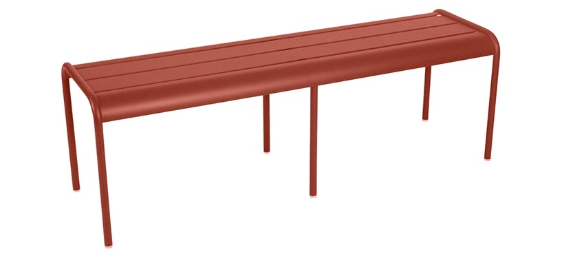 Fermob Monceau XL bench · Red Ochre