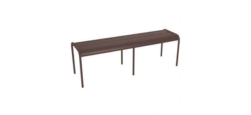 Fermob Monceau XL bench · Russet