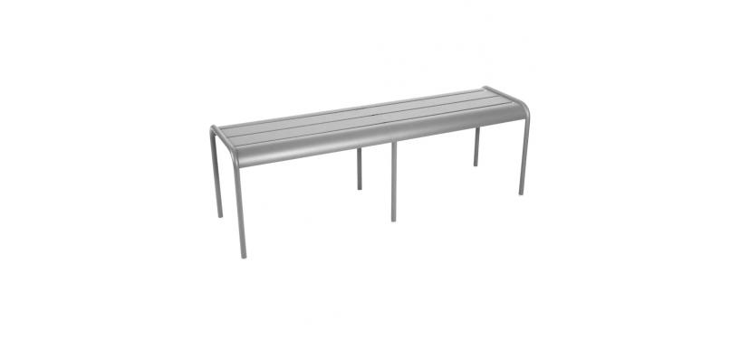 Fermob Monceau XL bench · Steel Grey