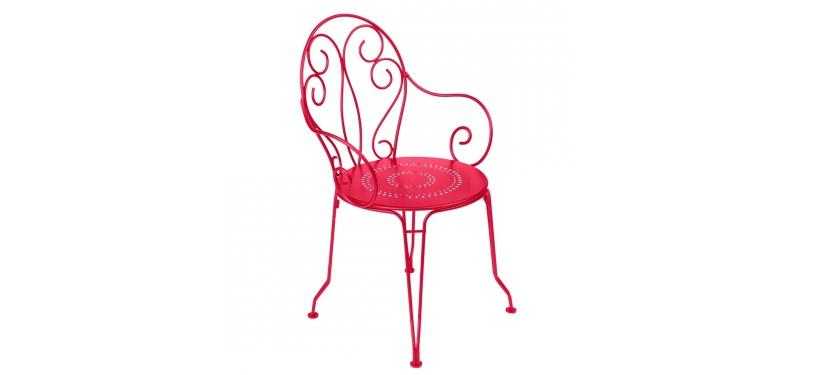 Fermob Montmartre Armchair · Pink Praline