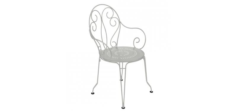 Fermob Montmartre Armchair · Steel Grey