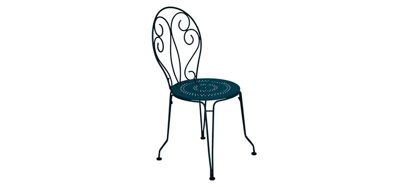 Fermob Montmartre Chair · Acapulco Blue