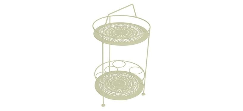 Fermob Montmartre Portable Bar · Willow Green