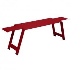 Fermob Origami Bench · Poppy