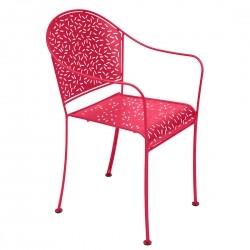 Fermob Rendez-vous Armchair · Pink Praline