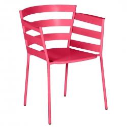 Fermob Rythmic Armchair · Pink Praline