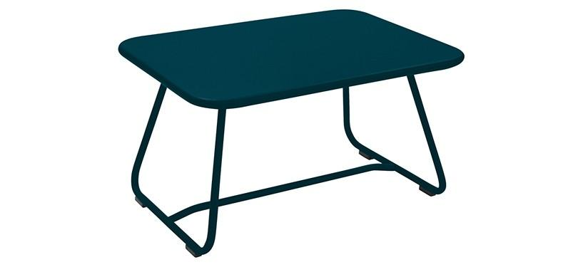 Fermob Sixties Low Table · Acapulco Blue