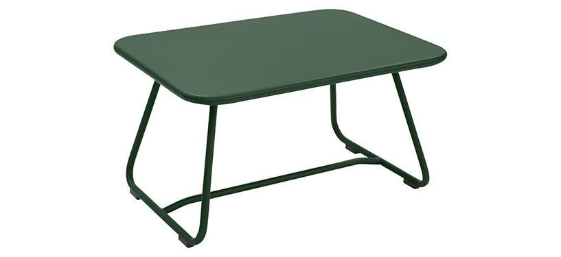 Fermob Sixties Low Table · Cedar Green