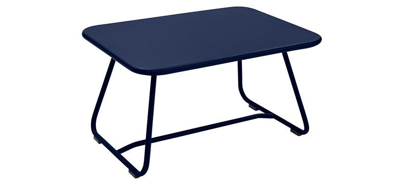 Fermob Sixties Low Table · Deep Blue