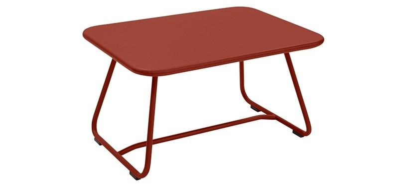 Fermob Sixties Low Table · Red Ochre