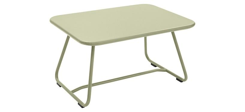 Fermob Sixties Low Table · Willow Green