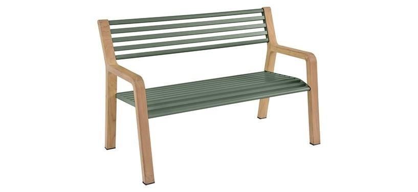 Fermob Somerset Bench · Cedar Green