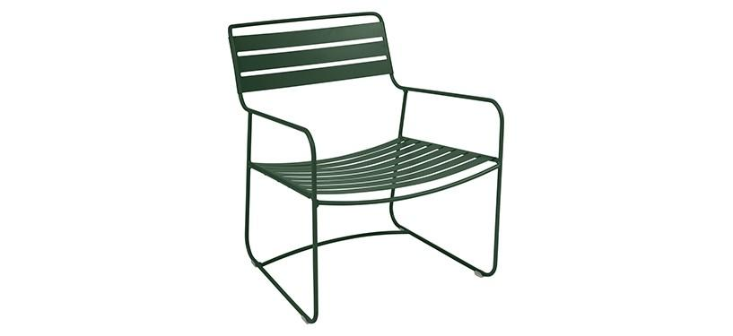Fermob Surprising Low Armchair · Cedar Green