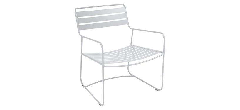 Fermob Surprising Low Armchair · Cotton White