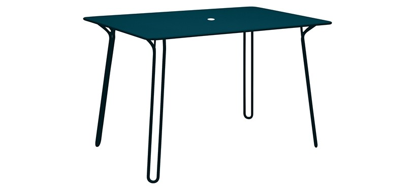 Fermob Surprising Table · Acapulco Blue