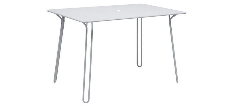 Fermob Surprising Table · Cotton White