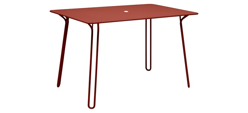 Fermob Surprising Table · Red Ochre
