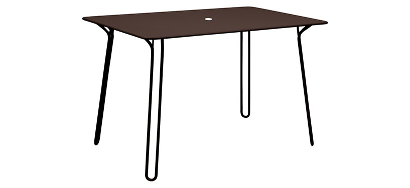 Fermob Surprising Table · Russet