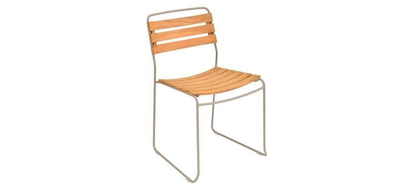 Fermob Surprising Teak Chair · Nutmeg