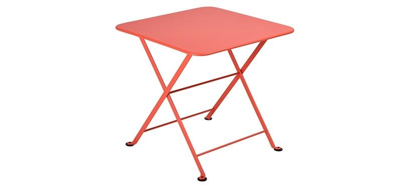 Fermob Tom Pouce Low Table · 50 x 50 · Capucine