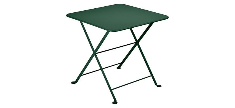 Fermob Tom Pouce Low Table · 50 x 50 · Cedar Green