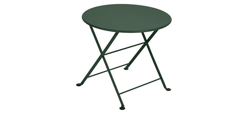 Fermob Tom Pouce Low Table · Ø 55 · Cedar Green