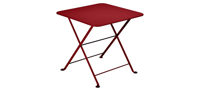 Fermob Tom Pouce Low Table · 50 x 50 · Chili