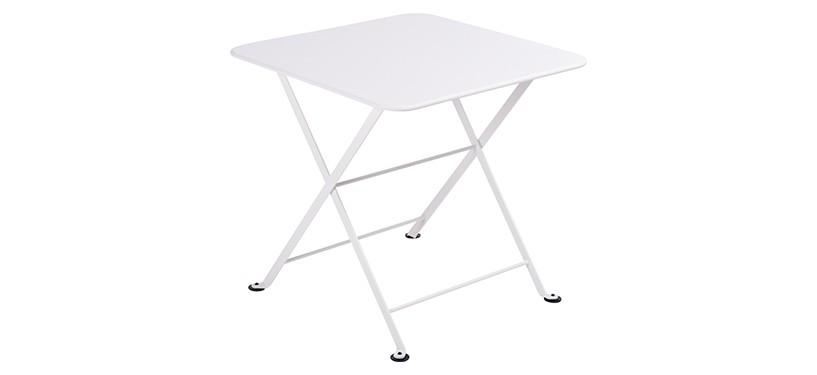 Fermob Tom Pouce Low Table · 50 x 50 · Cotton White