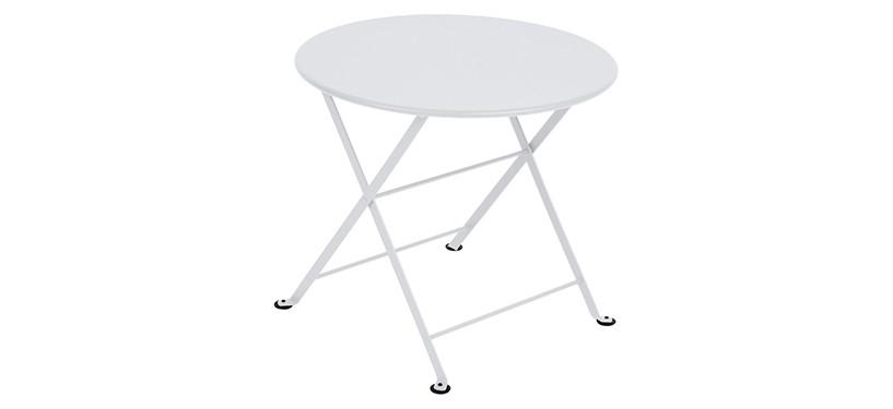 Fermob Tom Pouce Low Table · Ø 55 · Cotton White