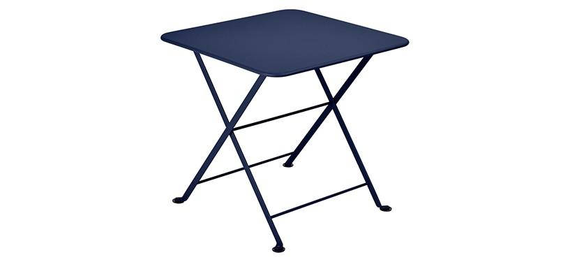 Fermob Tom Pouce Low Table · 50 x 50 · Deep Blue